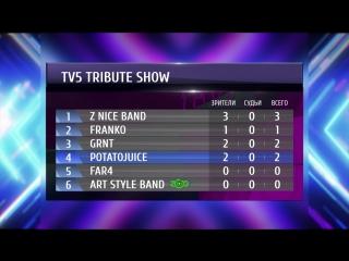 Результаты первой недели голосования в TV5 Tribute Show