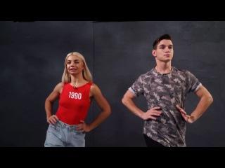 Танцы: Даша Ролик и Максим Жилин - Поставить собственный vogue (сезон 3, серия 17)