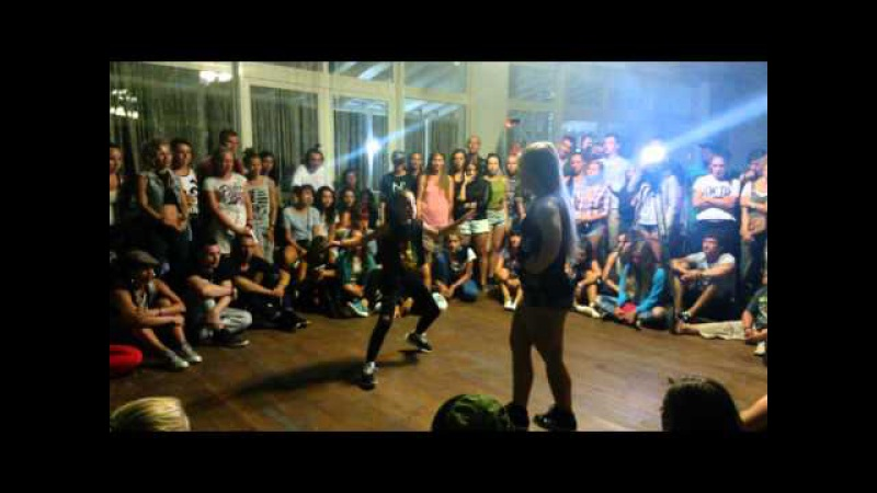 Dancehall battle BigUp Kemp 2015 Gaika vs Margo