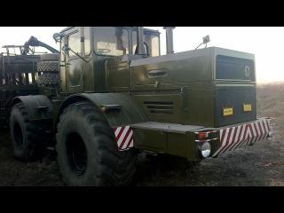 Сборная модель трактора Кировец К-701 AVD в масштабе 1:43
