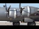 B-29 SuperFortress Engine Start / Maintenance Check Flight