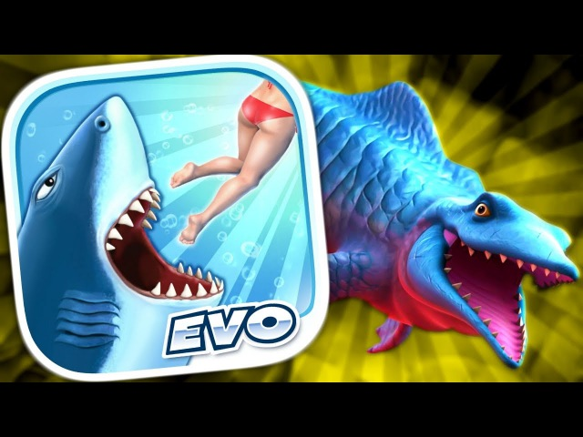 Hungry Shark Evolution Мистер Кусака Мозазавр Mr Snappy Mosasaurus ДЕЛАЮ ЗАДАНИЯ