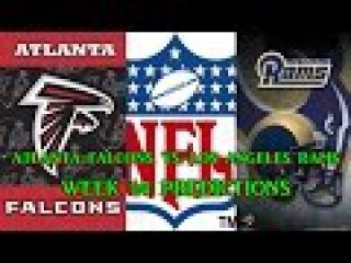 ATLANTA FALCONS VS. LOS ANGELES RAMS PREDICTIONS   NFL WEEK 14   full game