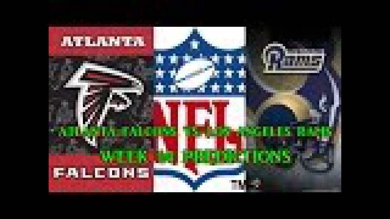 ATLANTA FALCONS VS. LOS ANGELES RAMS PREDICTIONS | NFL WEEK 14 | full game