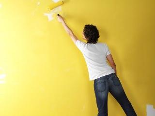 Как правильно красить стены валиком без следов и волос