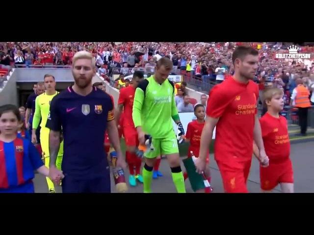 Leo Messi skils goals asist 2016 17