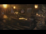 Pirate Ship Ambience - Captain's Cabin, Tropical Island Port, Bird Life 1 Hour