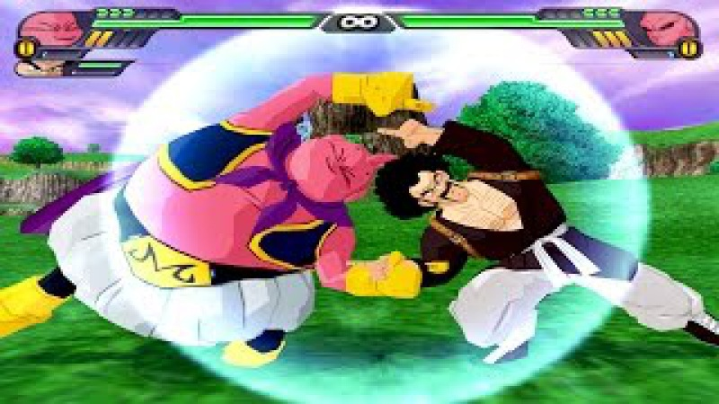 Majin Buu and Mr Satan Fusion | Buutan vs Kid Buu | DBZ Tenkaichi 3 (MOD)