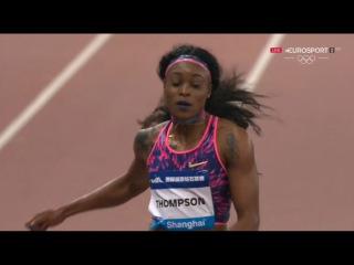 Elaine Thompson WL Women's 100m - IAAF Diamond League Shanghai 2017