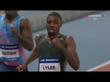 Noah Lyles 19.90 Mens 200m - IAAF Diamond League Shanghai 2017