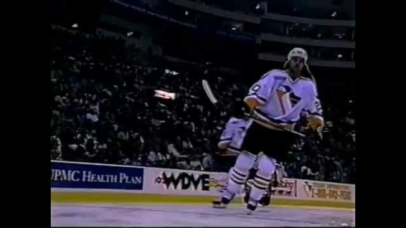 1999-00 Penguins vs. Avalanche (10081999) (Game Intro and Ceremonies)