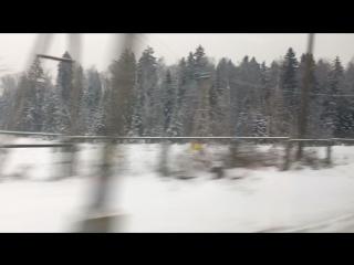 Питер-Москва (снежный путь)