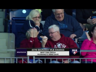 Esurance MLB Awards 2016: Best Fan Catch, Phillies © mlb.com