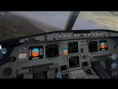 X plane-10 Airbus A-320 крушение