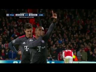 Лига Чемпионов 2016-17 / 1/8 финала / Ответые матчи / 5 лучших голов [HD 720p]