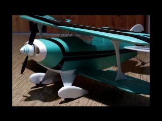 Радиоуправляемая модель. Постройка. Модель самолета Pitt`s 1S