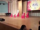 Танец Самовар в Казах Концерт , Фестиваль Жас Таланттар 2 апреля 2017 г