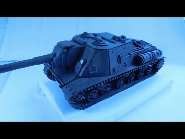 ИСУ-152 ИЗ ПЛАСТИЛИНА имитация БАБАХА боеукладки ПТСАУ » Freewka.com - Смотреть онлайн в хорощем качестве