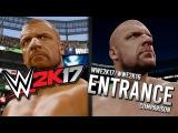 WWE 2K17 TRIPLE H ENTRANCE/MODEL COMPARISON (WWE2K17/WWE2K16) WRESTLEMANIA 31