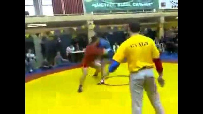 Драка на ринге, или соревнования по дагестанки