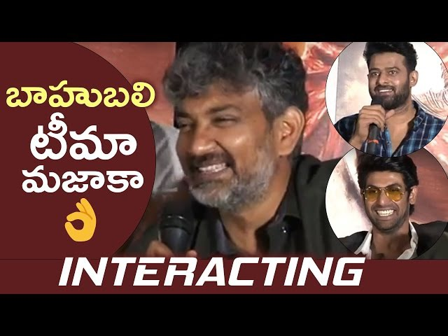 Baahubali Team Superb Answers To Media Questions | Baahubali Team Interacting With Media | TFPC
