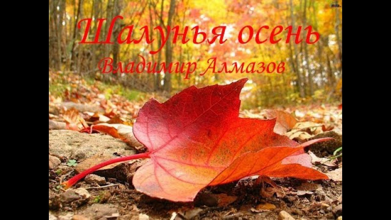Шалунья осень - Алмазов Владимир