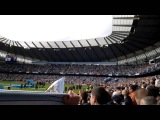 Manchester City fans sing Wonderwall by Oasis after winning 201314 Premier League