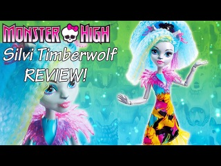 Monster High: Electrified Silvi Timberwolf REVIEW