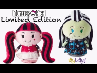 Limited Edition Itty Bittys Monster High Draculaura and Frankie