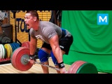 John Cena Set a New Deadlift Record (Workout)  Muscle Madness