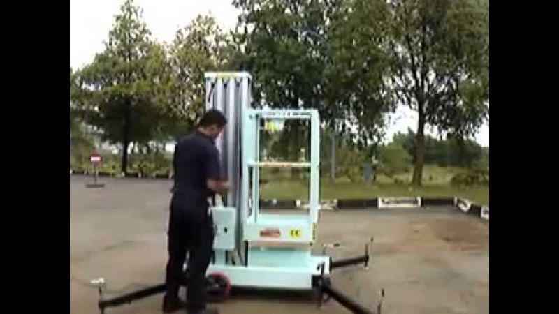 Thang nâng người, thang nâng điện OPK, khung thang nâng - Xe Nâng Việt Nhật 0915 847 288
