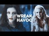 WREAK HAVOC. FEMSLASH WEEK