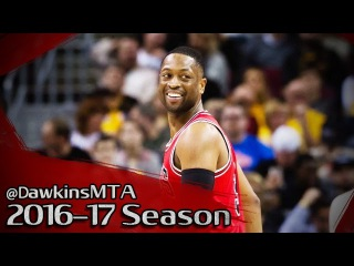 Dwyane Wade Full Highlights 2017.02.25 at Cavs - 20 Pts, 10 Assists, 9 Rebs!
