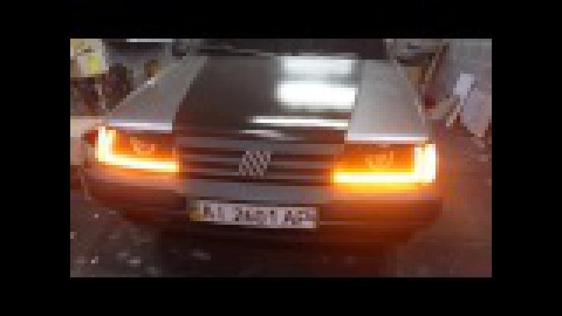 Fiat Tempra Часть 2 Доработка и переделка штатной оптики