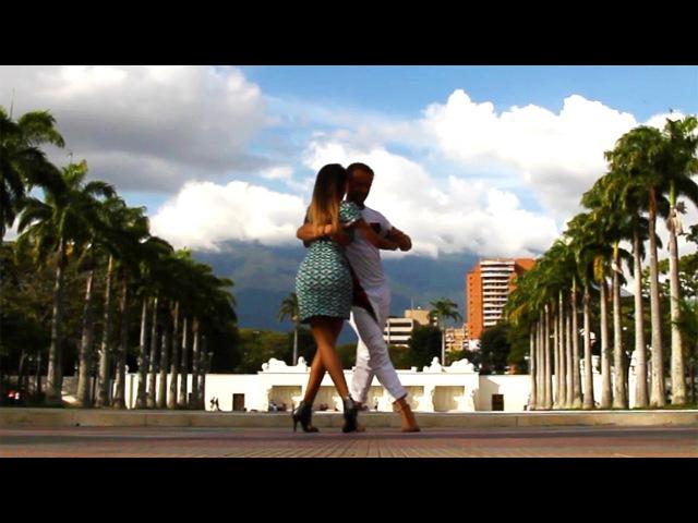 Kizomba Fusion in Caracas Venezuela Kristofer Mencák Kissie Perez