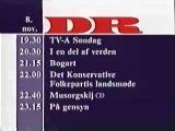 Программа передач (DR [Дания], 07.11.1992)