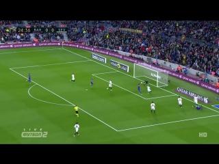Барселона 1:0 Севилья | Красивый гол Суареса