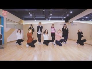 VK mirrored dance practice TWICE - TT