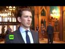 RT Deutsch Exklusiv-Interview mit Österreichs Außenminister Sebastian Kurz