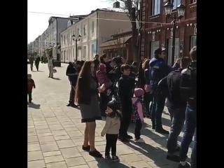 Живая музыка на Нальчикском Арбате ✌ (ул. Кабардинская)
