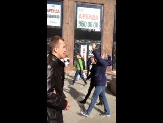 [18+, мат] Москва, #26марта, реакция москвичей на последышей Навального