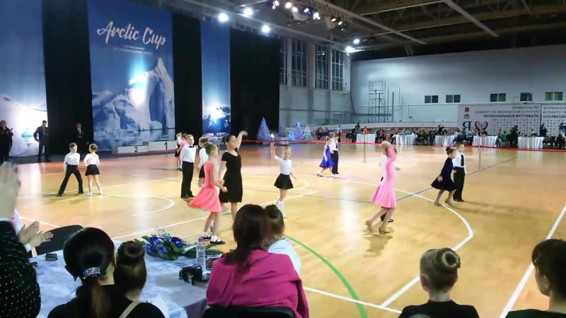 турнир по спортивным бальным танцам.Наминация 4 танца 25.12.2016