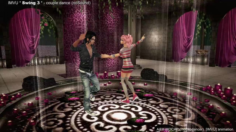 Swing 3 - dance animation for imvu | Lindy Hop