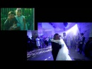 Самый трогательный танец отца и дочери. Невеста спела песню папе.