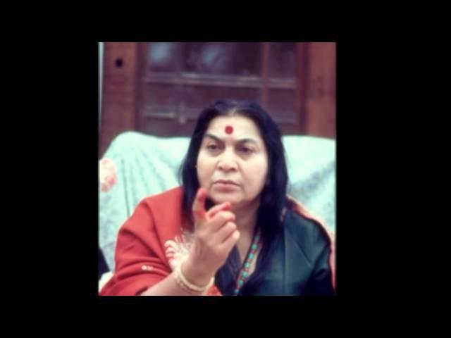 Лекция Шри Матаджи - пуджа шри Гуру / Англия - 02.12.1979/