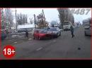 Улетел с трассы. Подборка аварий и дтп 487 Октябрь 2016 АвтоСтрасть