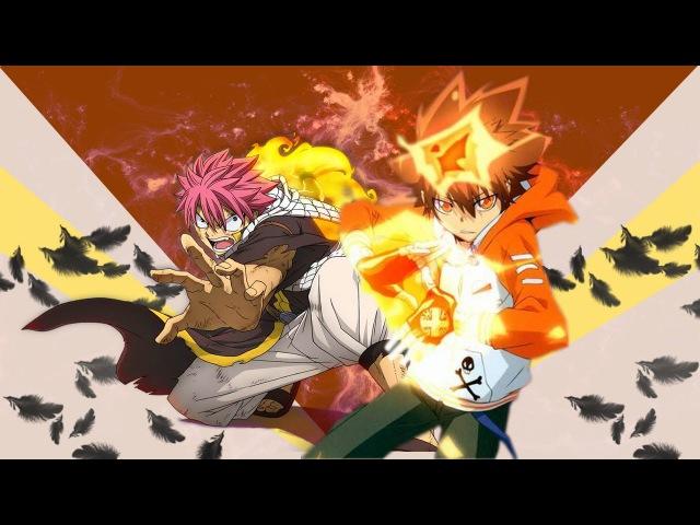 [MAD] Fairy Tail x Katekyo Hitman Reborn OP