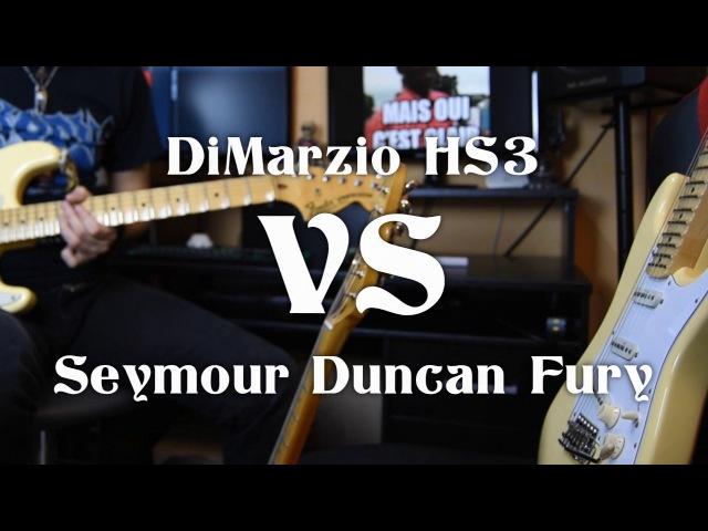 DiMarzio HS3 VS Seymour Duncan Fury - Yngwie Malmsteen pickups