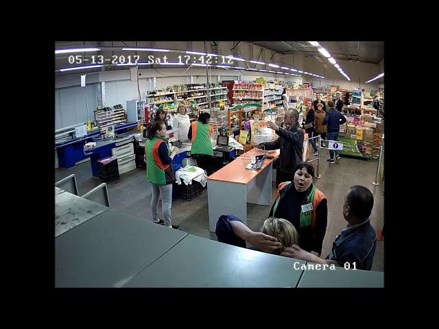 Бывшая работница грабит свой магазин (14.05.2017)