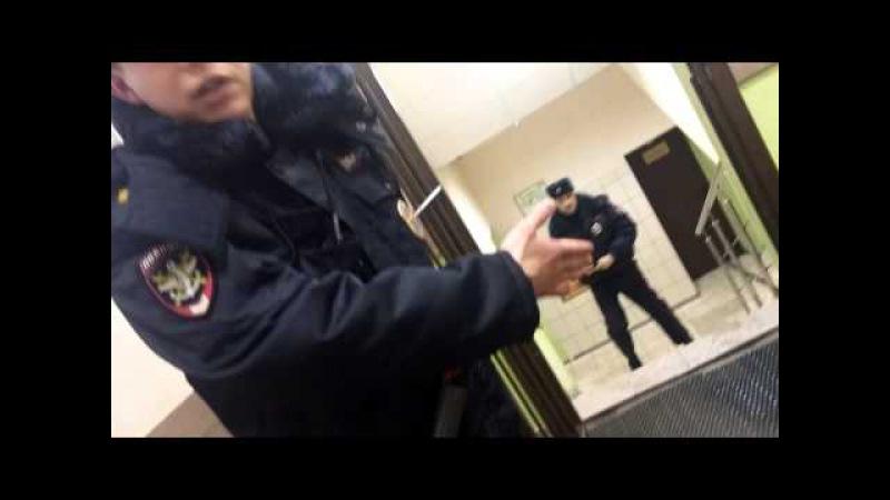 Беспредел сотрудника в Комсомольском отделении полиции